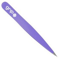 Caron Grip Matte Pointed Tweezer Purple GM5